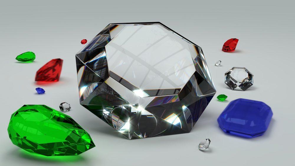 יהלומים במגוון צבעים