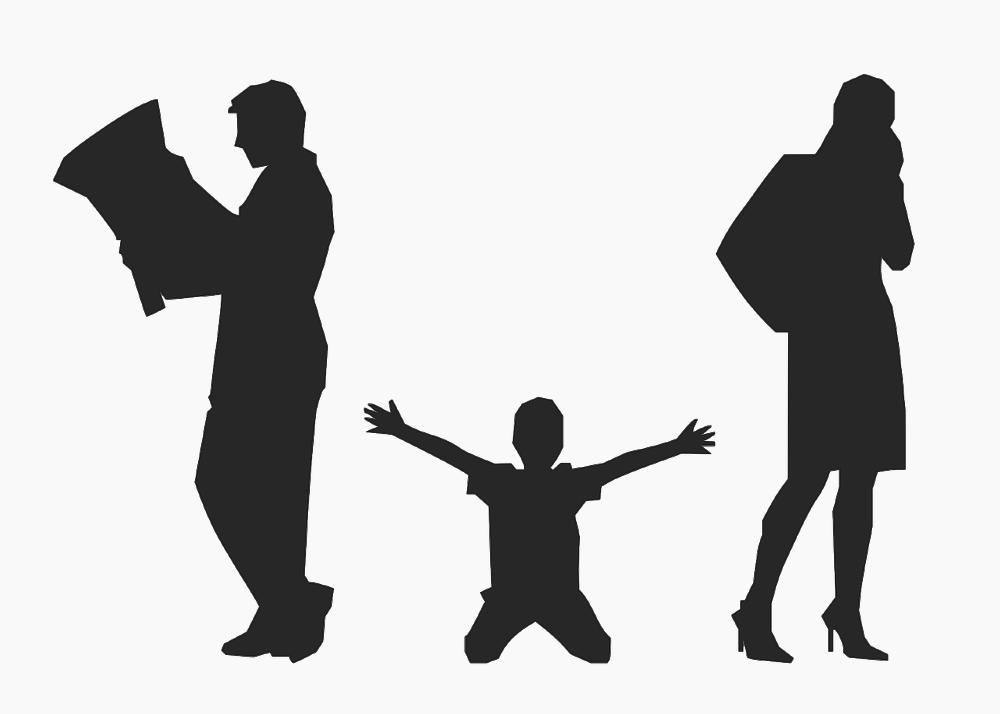 הורים גרושים וילד