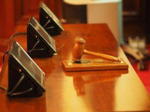 פטיש משפטי בבית משפט