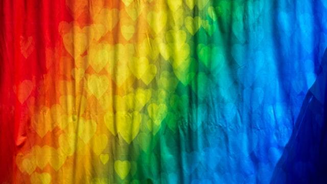 דגל בצבעי הגאווה - אילוסטרציה